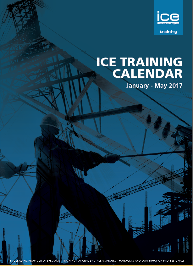 ICE Training calendar, 2017, training