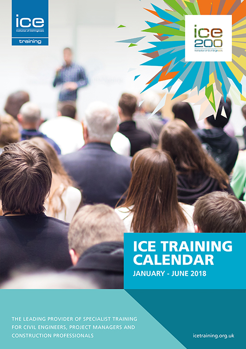 ICE Training calendar, 2018, training, elearning, ice